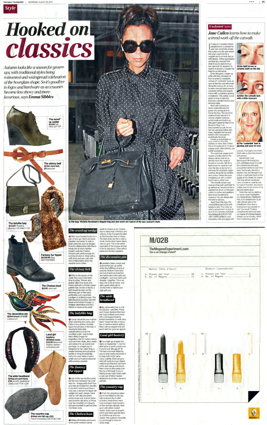 Avalaya.com brooch feature in The Daily Telegraph on page 25