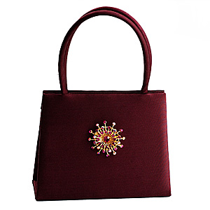 Wear Brooch on Bag