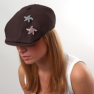 Wear Brooch on Hat or Beret