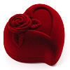 Burgundy Heart Gift Box