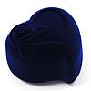 Dark Blue Heart Gift Box