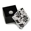 Black/White Card Ring Box