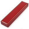 Red Leatherette Bracelet/ Pendant/ Watch Jewellery Box