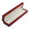 Luxury Red Cherry Stylish Matte Wooden Style Box for Bracelets/ Pendants