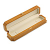 Victorian Style Luxury Wood Oak Gloss Jewellery Presentation Box (Bracelet, Pendant)