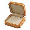 Victorian Style Luxury Wood Oak Gloss Jewellery Presentation Box (Earrings, Pendant, Bracelet, Brooch)