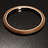 Slim Mesh Bangle (Gold Tone)