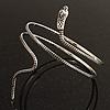Antique Silver Snake Armlet Bangle