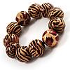 Animal Print Wood Flex Bracelet