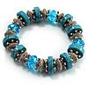 Stunning Turquoise Bead Flex Bracelet