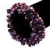 Purple Shell Chip Flex Bracelet