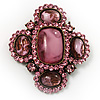 Precious Heirloom Brooch (Pink)