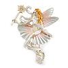 Majestic Fairy Brooch
