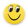 Happy Looking Smiling Face Lapel Pin Button Badge - 3cm Diameter