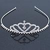 Classic Bridal/ Wedding/ Prom Rhodium Plated Austrian Crystal Tiara