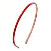 Thin Red Polished Acrylic Alice/ Hair Band/ HeadBand