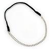 Wedding/ Bridal Clear Crystal Elastic Hair Band/ Elastic Band/ Headband - 45cm L (not stretched)