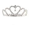 Fairy Princess Bridal/ Wedding/ Prom/ Party Silver Tone Crystal Mini Hair Comb Tiara - 65mm