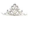 Fairy Princess Bridal/ Wedding/ Prom/ Party Silver Tone Crystal Mini Hair Comb Tiara - 55mm