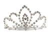 Fairy Princess Bridal/ Wedding/ Prom/ Party Silver Tone Crystal Mini Hair Comb Tiara - 70mm