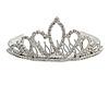 Fairy Princess Bridal/ Wedding/ Prom/ Party Silver Tone Crystal Mini Hair Comb Tiara - 85mm