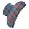 Large Shiny 'Rainbow' Acrylic Hair Claw/ Hair Clamp - 90mm Across