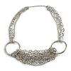 Silver Multi-Stranded Necklace