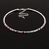 Thin Austrian Crystal Choker Necklace (Multicoloured)