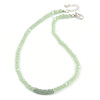 Light Green Mountain Crystal and Swarovski Elements Choker Necklace - 36cm Length (5cm extension)