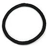 Statement Chunky Black Beaded Stretch Choker Necklace - 44cm L