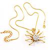 Gold Tarantula Pendant