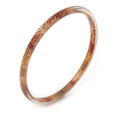 Black// White Enamel Segmental Hinged Bangle Bracelet In Rhodium Plating 19cm L