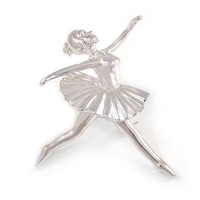 'Dancing Ballerina' Fashion Brooch - main view