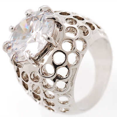 Hollywood Style Cocktail Ring