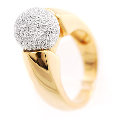 Dual-Tone Ball Costume Ring