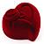 Burgundy Heart Gift Box