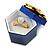 Glitter Blue Bow Ring Jewellery Box - view 2