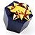 Glitter Blue Bow Ring Jewellery Box - view 3