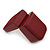 Wooden Style Dark Burgundy Ring Box - view 6