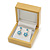 Luxury Wooden Natural Pine Earrings Box - view 3