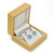 Luxury Wooden Natural Pine Earrings Box - view 7