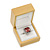 Luxury Wooden Natural Pine Ring Box - view 9