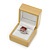 Luxury Wooden Natural Pine Ring Box - view 3