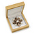 Luxury Wooden Natural Pine Jewellery Presentation Box (Earrings, Pendant, Brooch) - view 3