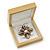 Luxury Wooden Natural Pine Jewellery Presentation Box (Earrings, Pendant, Brooch) - view 3