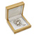 Luxury Wooden Natural Pine Jewellery Presentation Box (Earrings, Pendant, Brooch) - view 4