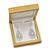 Luxury Wooden Natural Pine Jewellery Presentation Box (Earrings, Pendant, Brooch) - view 6