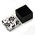 Black/White Card Ring/ Stud Earrings Box - view 7