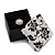 Black/White Card Ring/ Stud Earrings Box - view 3