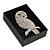 Black/White Card Pendant/Brooch/Earrings Box - view 10